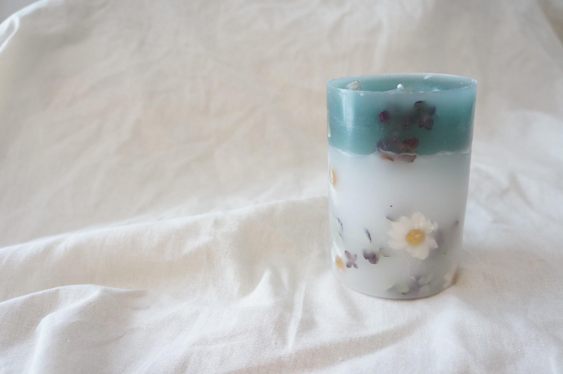 Botanical candle    no.003