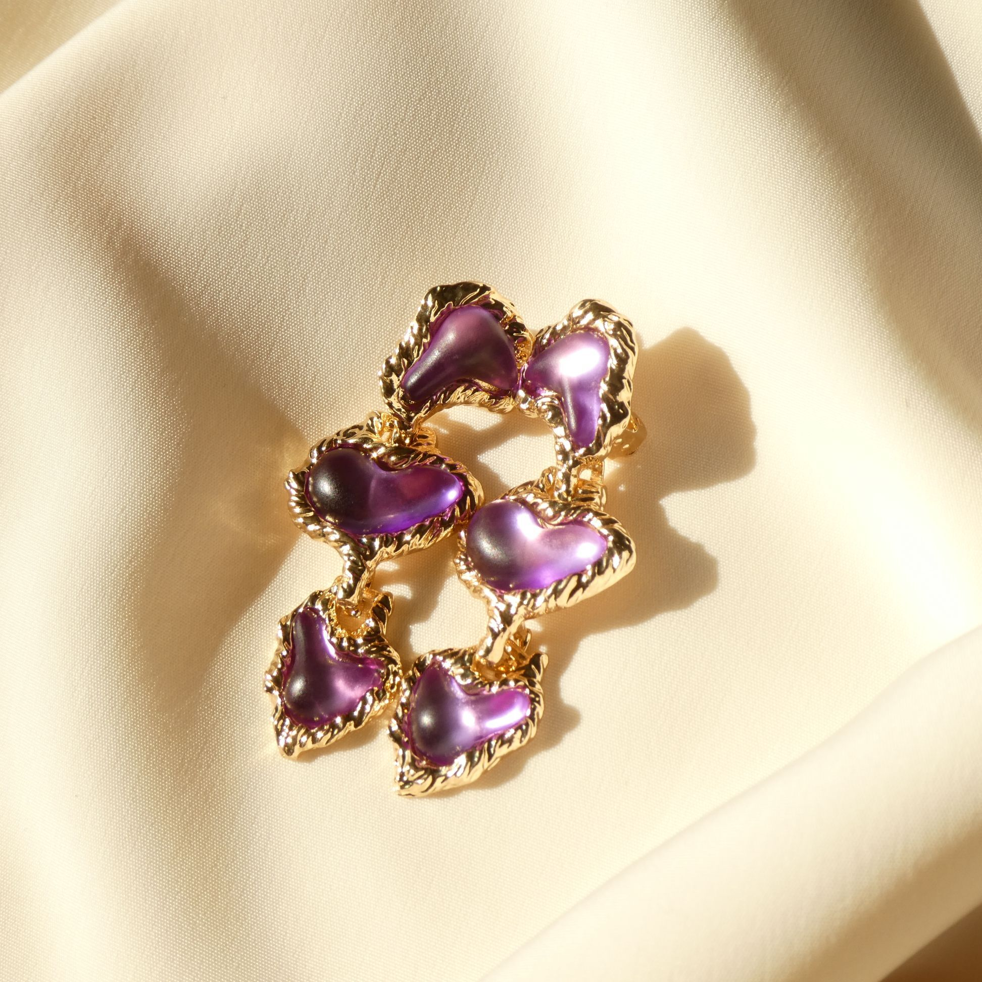 80s Vintage Stock: The Lucienne Earring 〜光を添える〜
