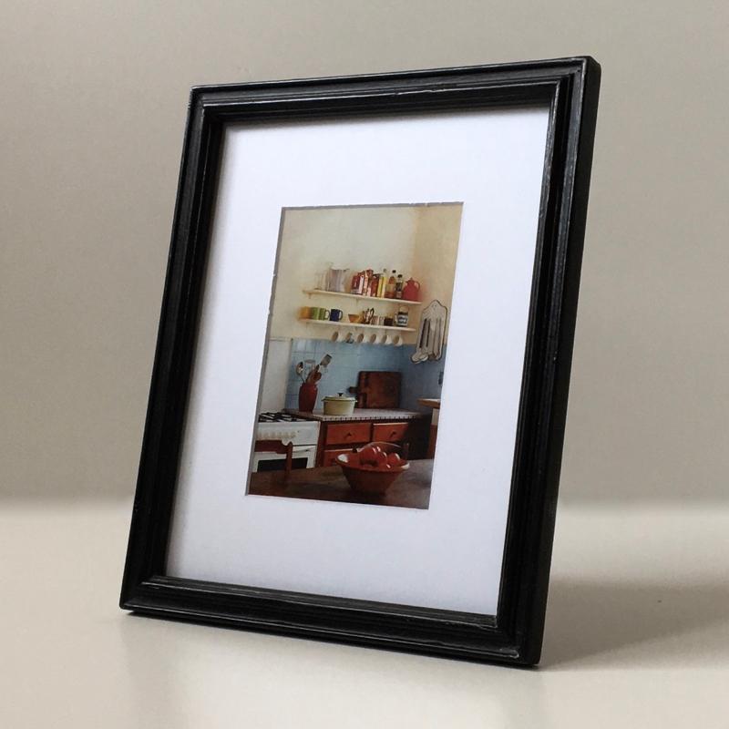 クラシカルなフォトフレーム Black Wood(26cm) Classic Photo Frame