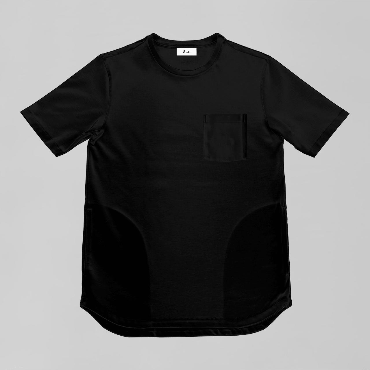 オーセンティックポケットT / Authentic Pocket T #BLACK