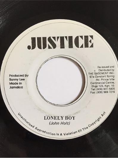 John Holt(ジョンホルト) - Lonely Boy【7inch】