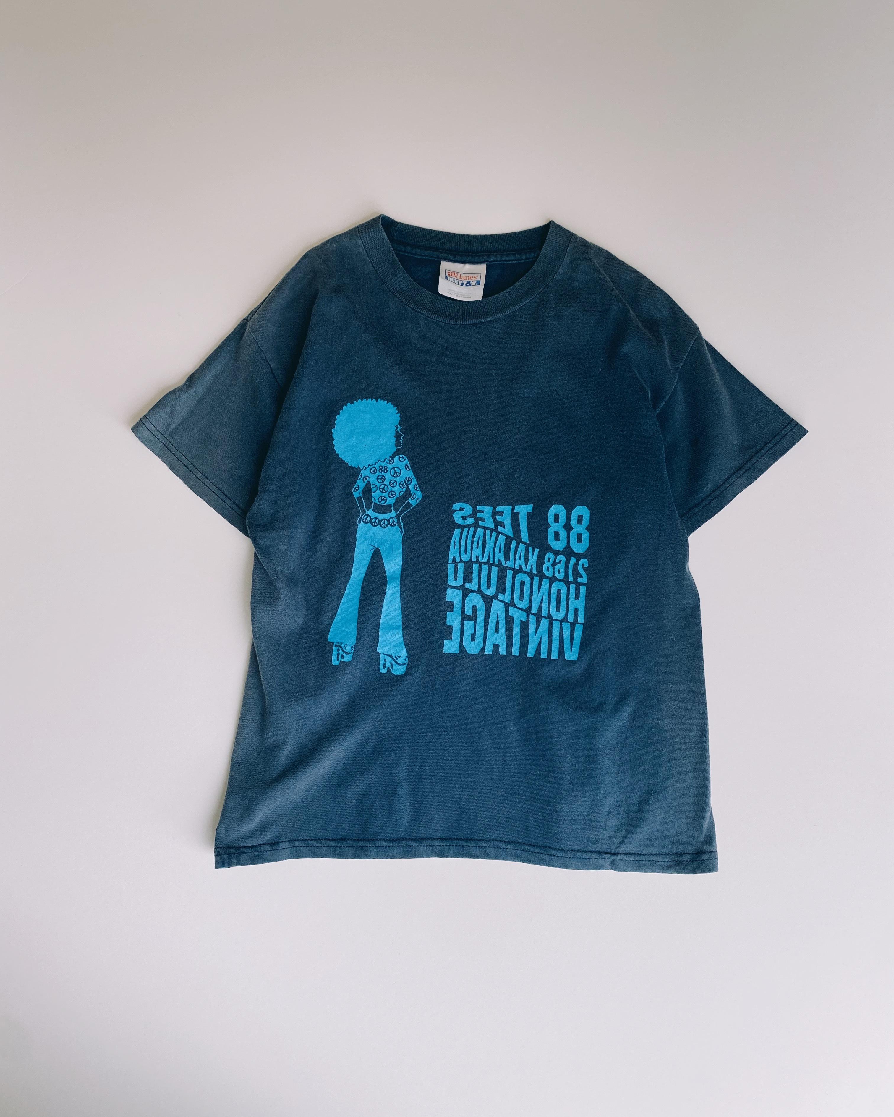 (KD181)150cm Hanes printed T-shirt