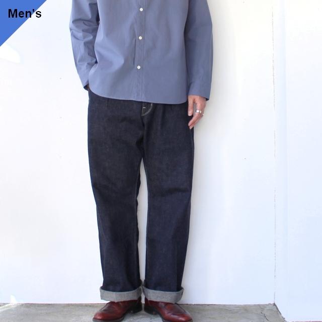 【ラスト1点】Orgueil オルゲイユ Wide Denim Trousers ワイドデニムトラウザー  OR-1055 ワンウォッシュ
