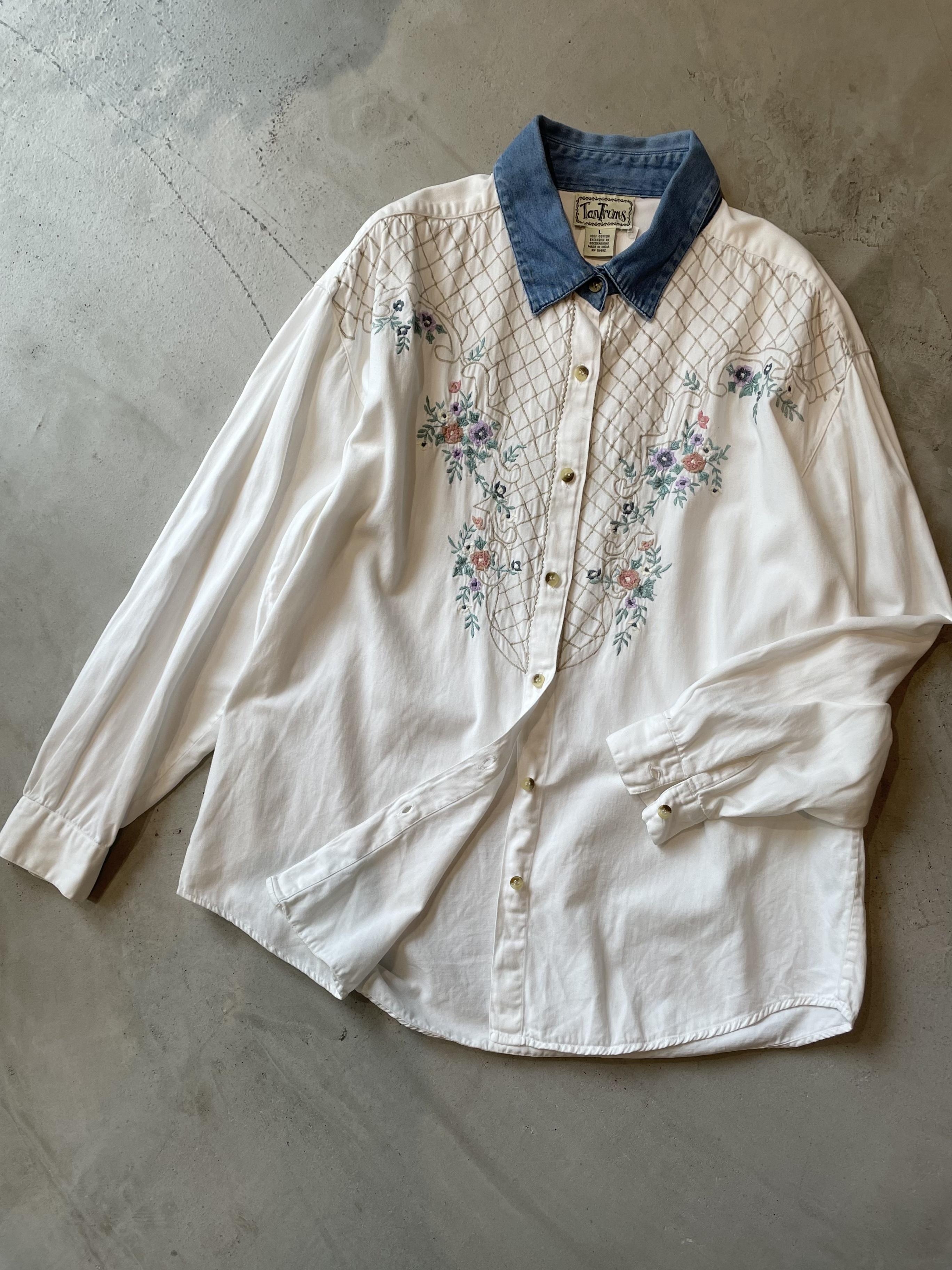 vintage embroidary shirt