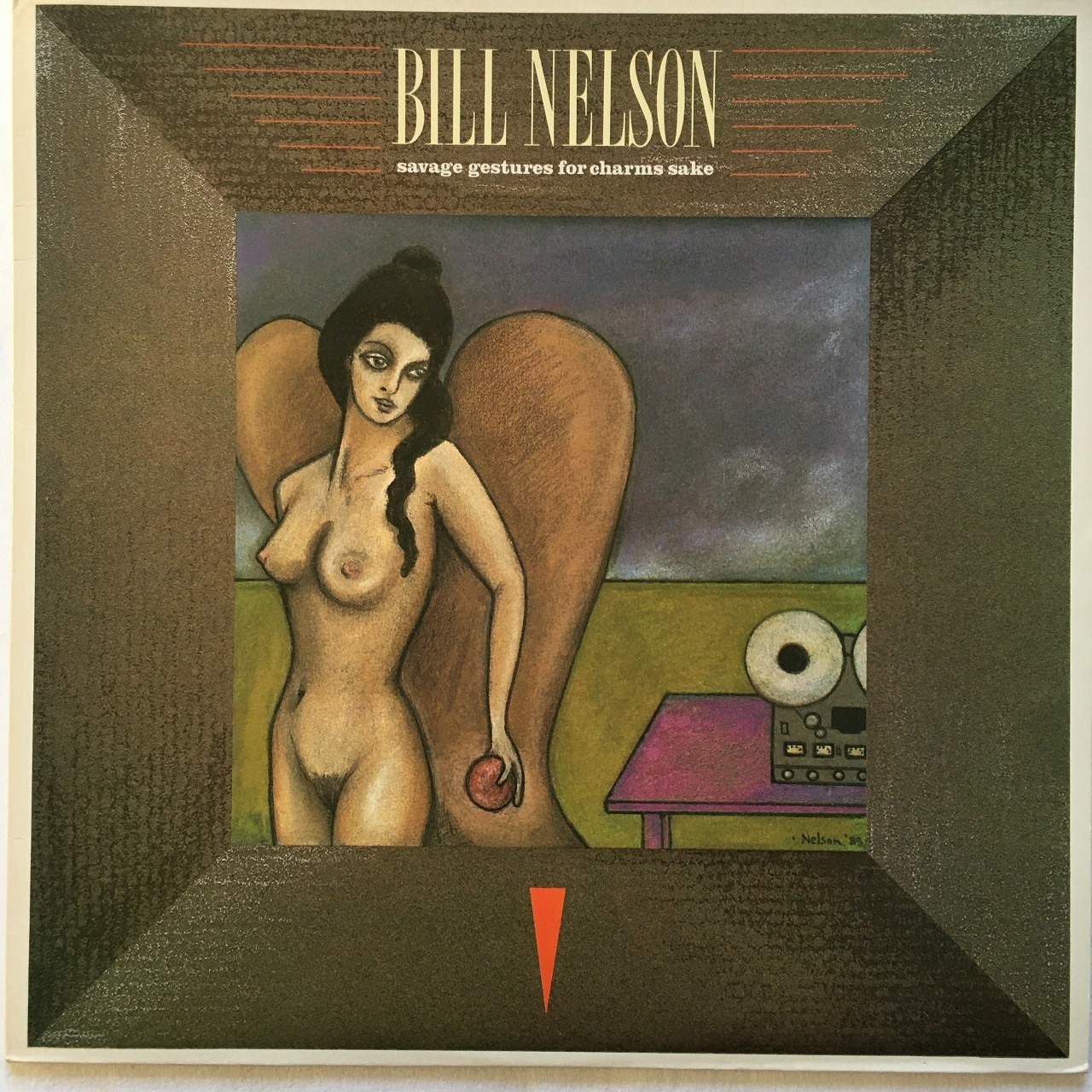 【LP・英盤】Bill Nelson /  Savage Gestures For Charms Sake