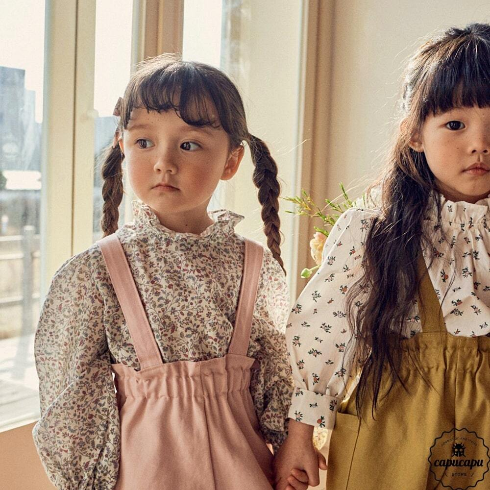 «sold out»«pour enfant»  キャシャレルブラウス Cacharel blouse