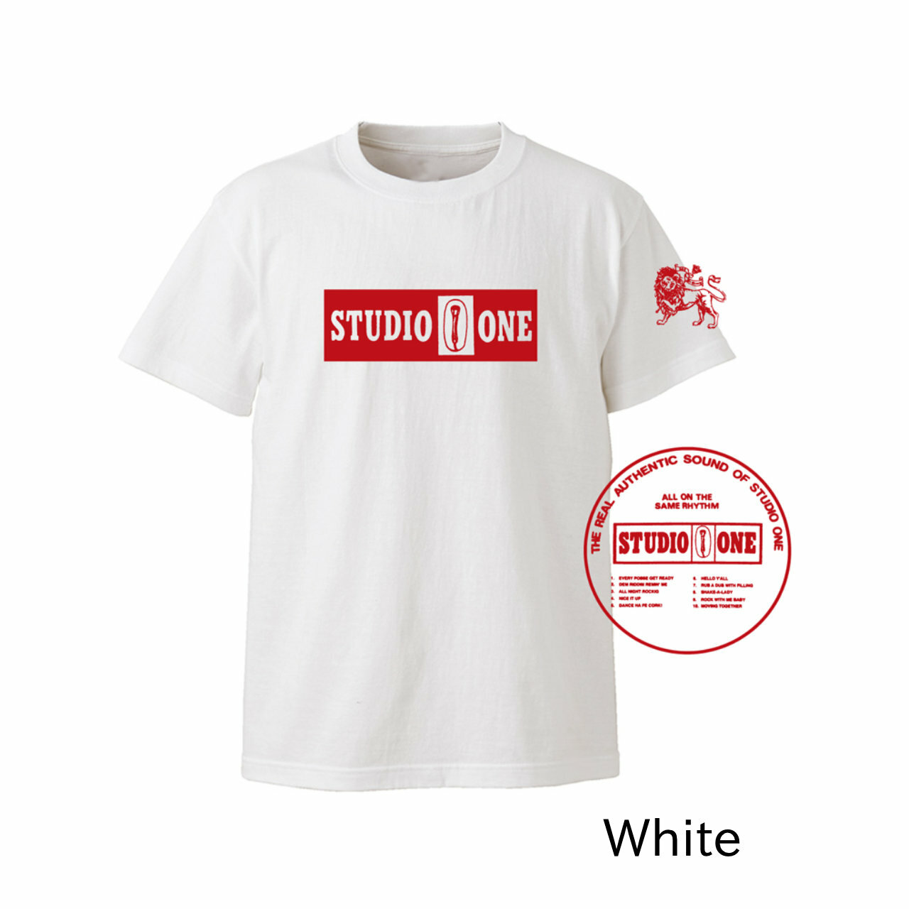 【Or Glory】 STUDIO ONE ジャマイカ SKA Tシャツ 〈White〉
