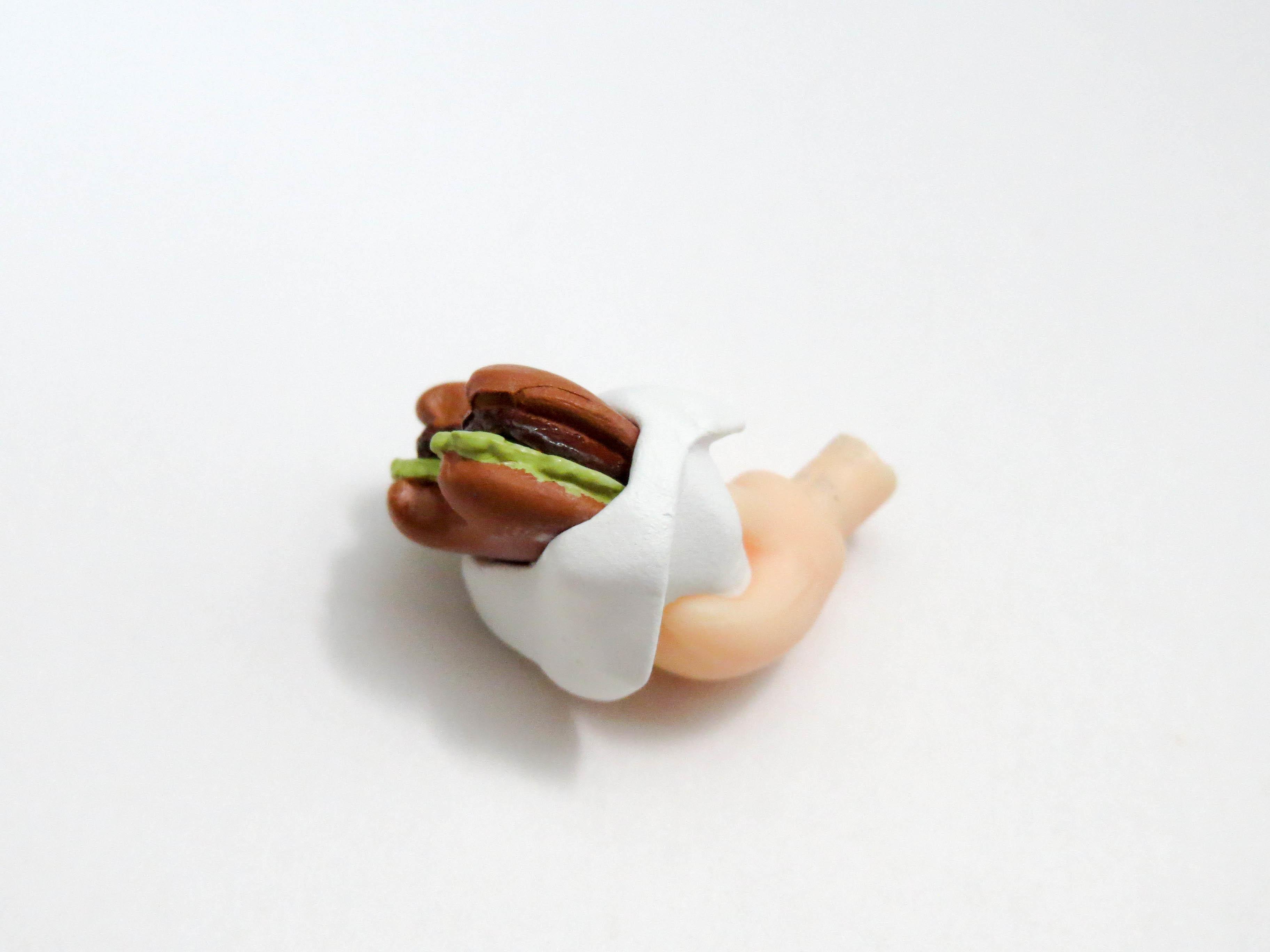 再入荷【742】 レオナルド・ウォッチ 小物パーツ ハンバーガー ねんどろいど
