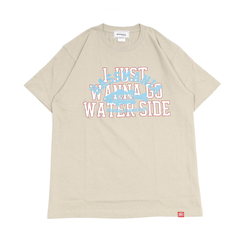 アーチロゴクラックプリントTシャツ [S.GRY]