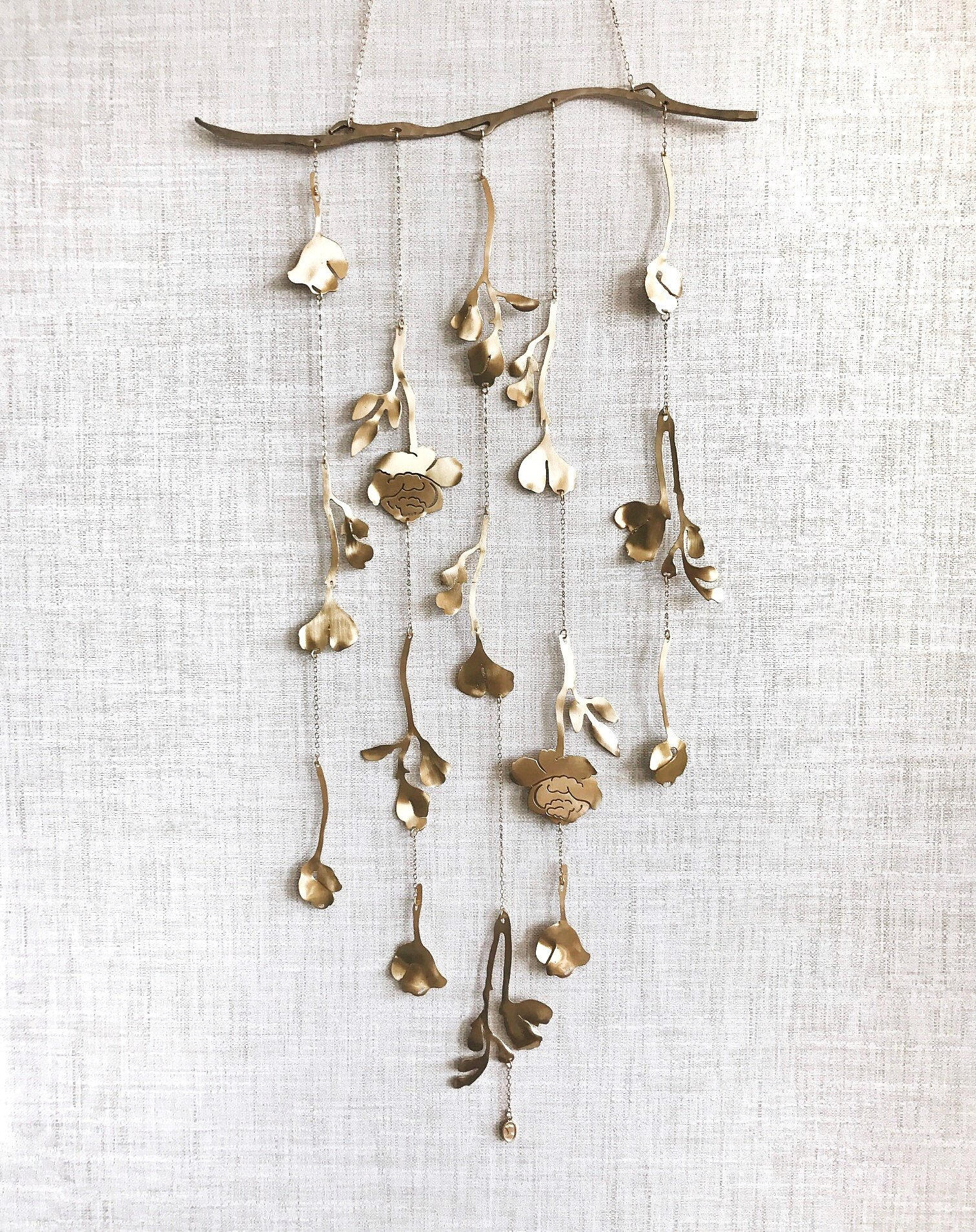 Floral Wall Hanging フラワー 壁掛けオブジェ