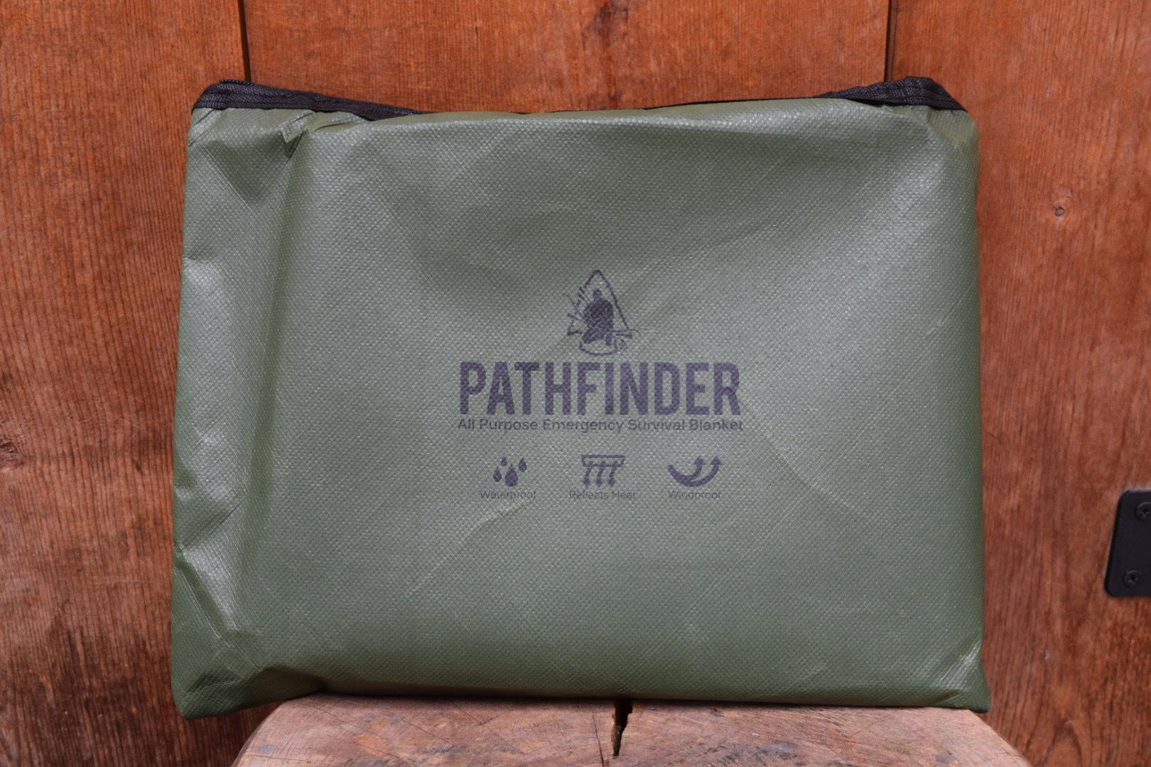 新品 PATHFINDER Survival Blanket Olive