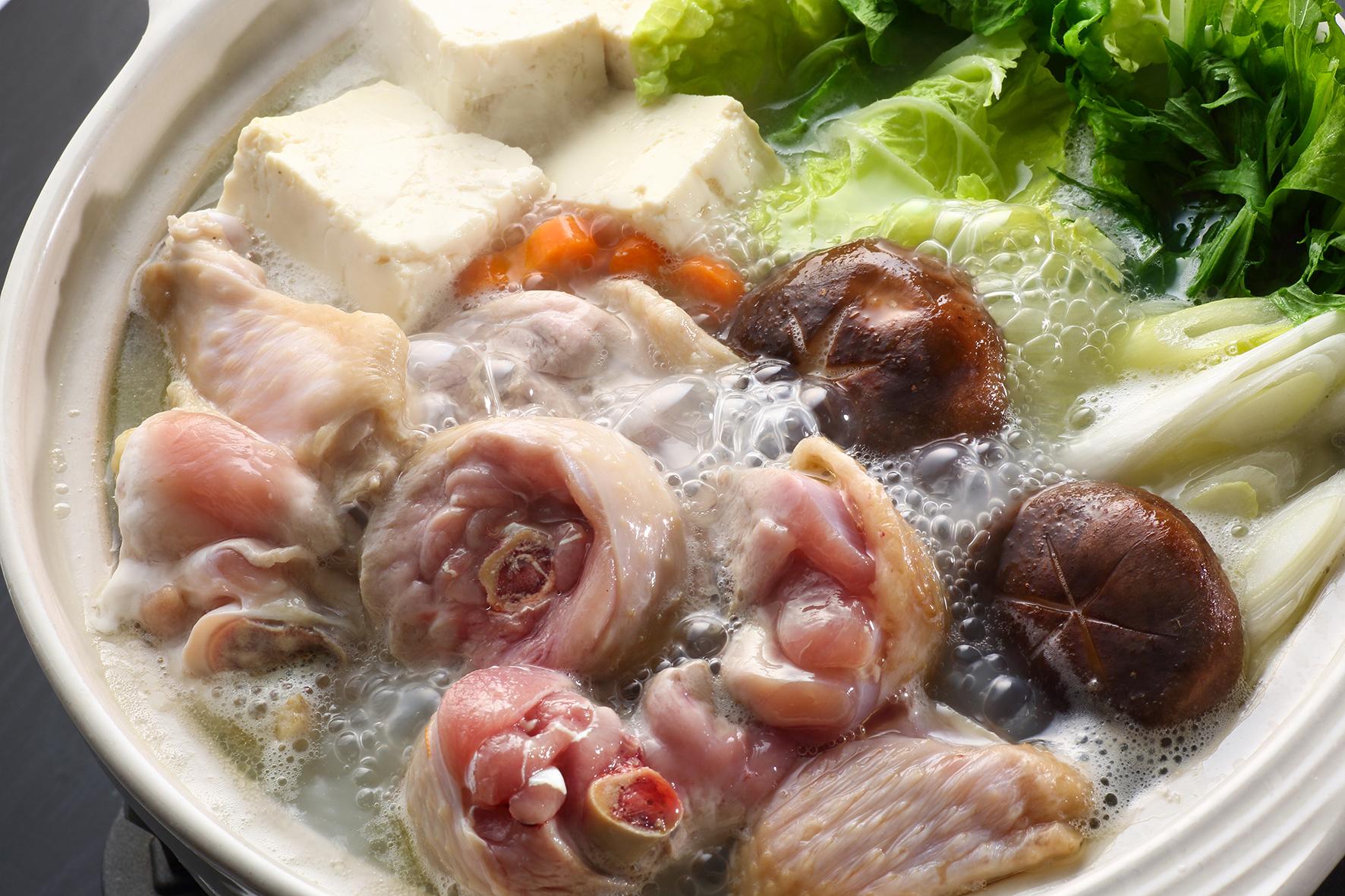 スープがおいしい!地鶏鍋セット3〜4人前
