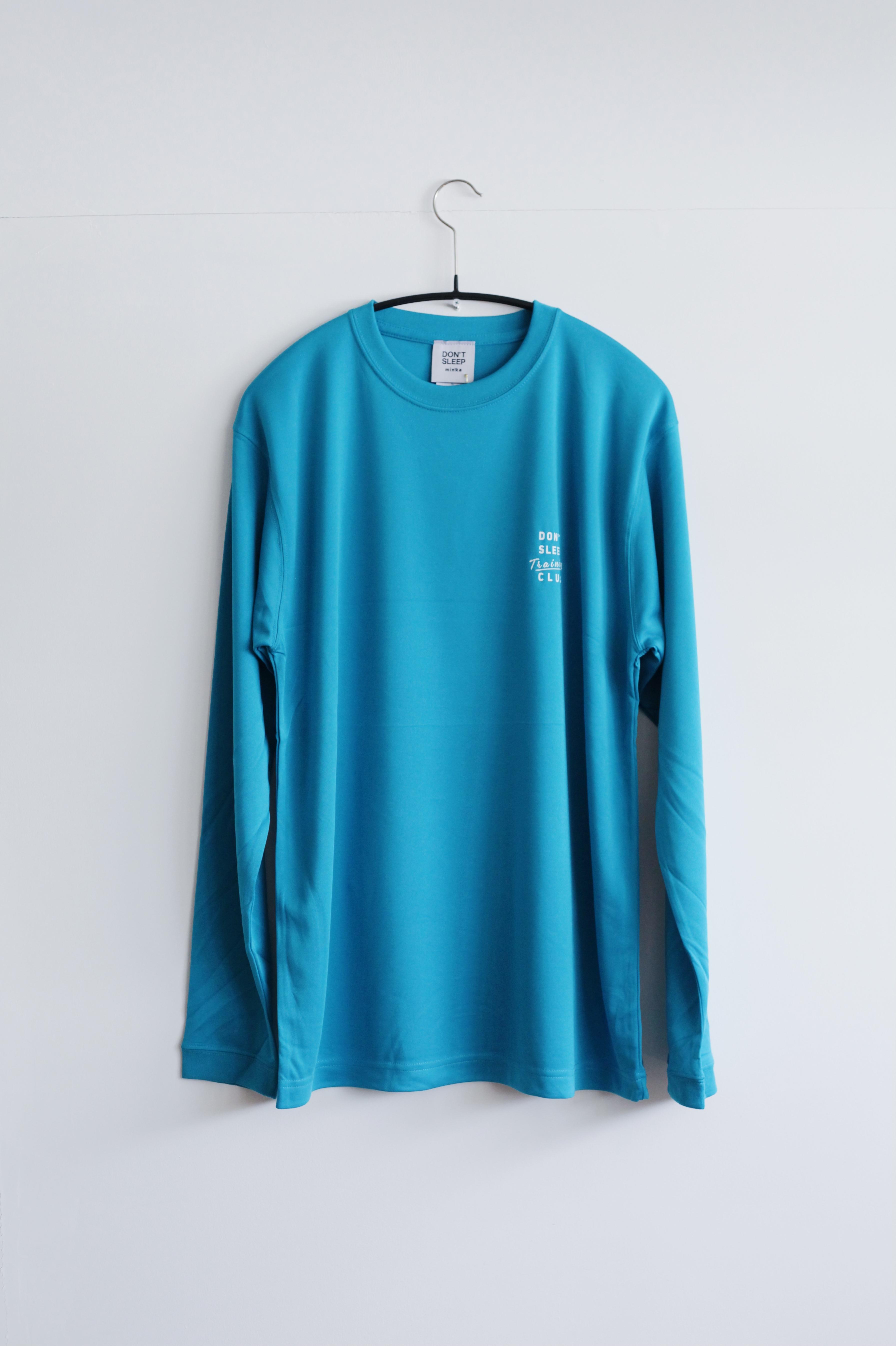 【DON'T SLEEP(ドントスリープ)】ロングスリーブ ドライシルキータッチTシャツ