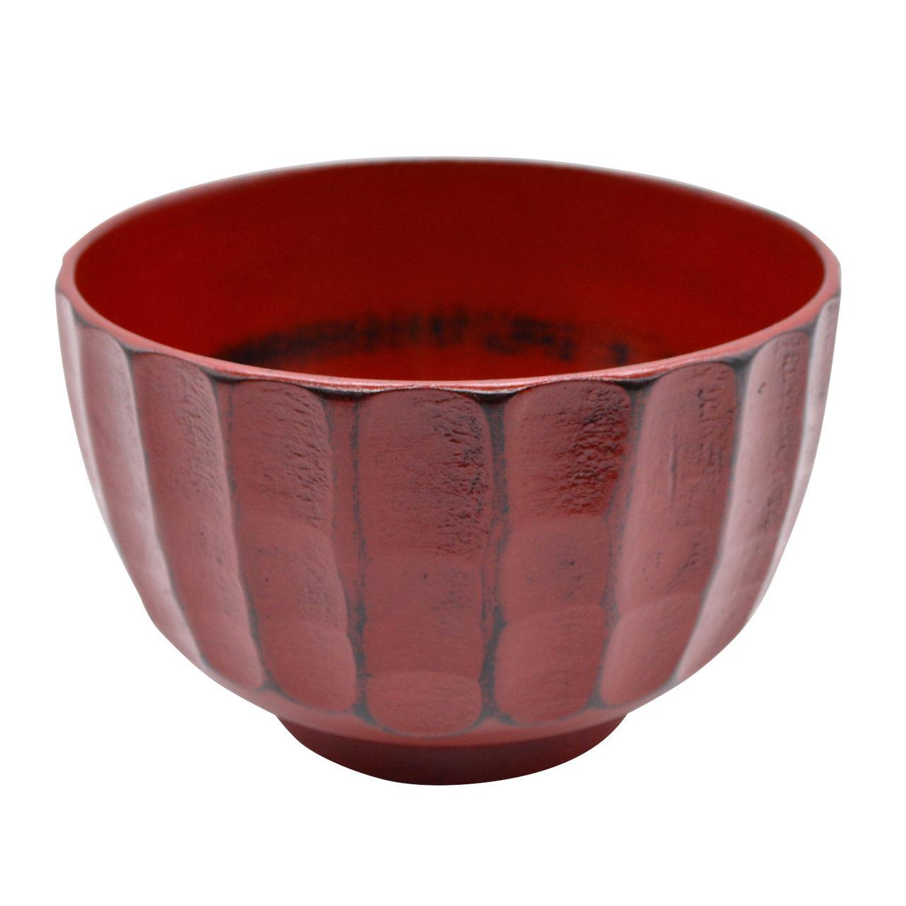 紀州漆器 角田清兵衛商店 ナノコート 食洗機可 かまくら 汁椀 大 約13cm 根来 WR-468974
