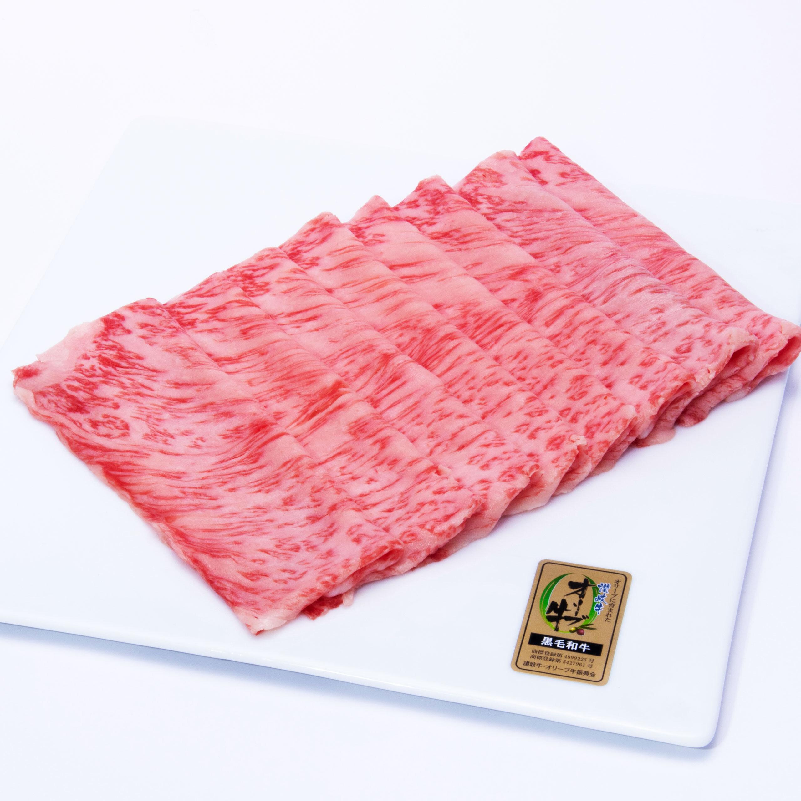 オリーブ牛ロース|すき焼き:500g