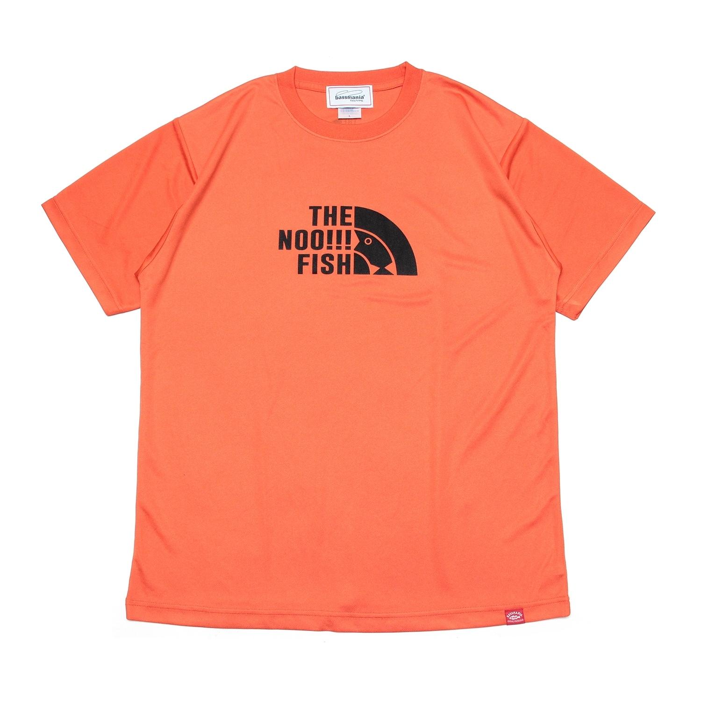 THE NOO!!! FISH dry UV Tシャツ[オレンジ]