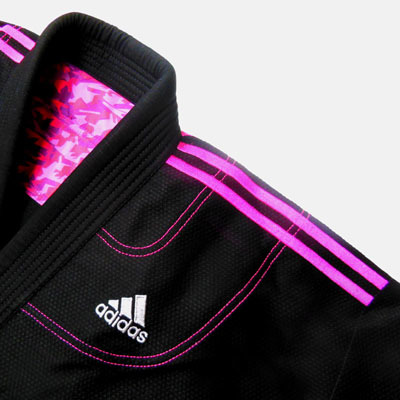 adidas Contest2.0 柔術衣 黒/ピンク