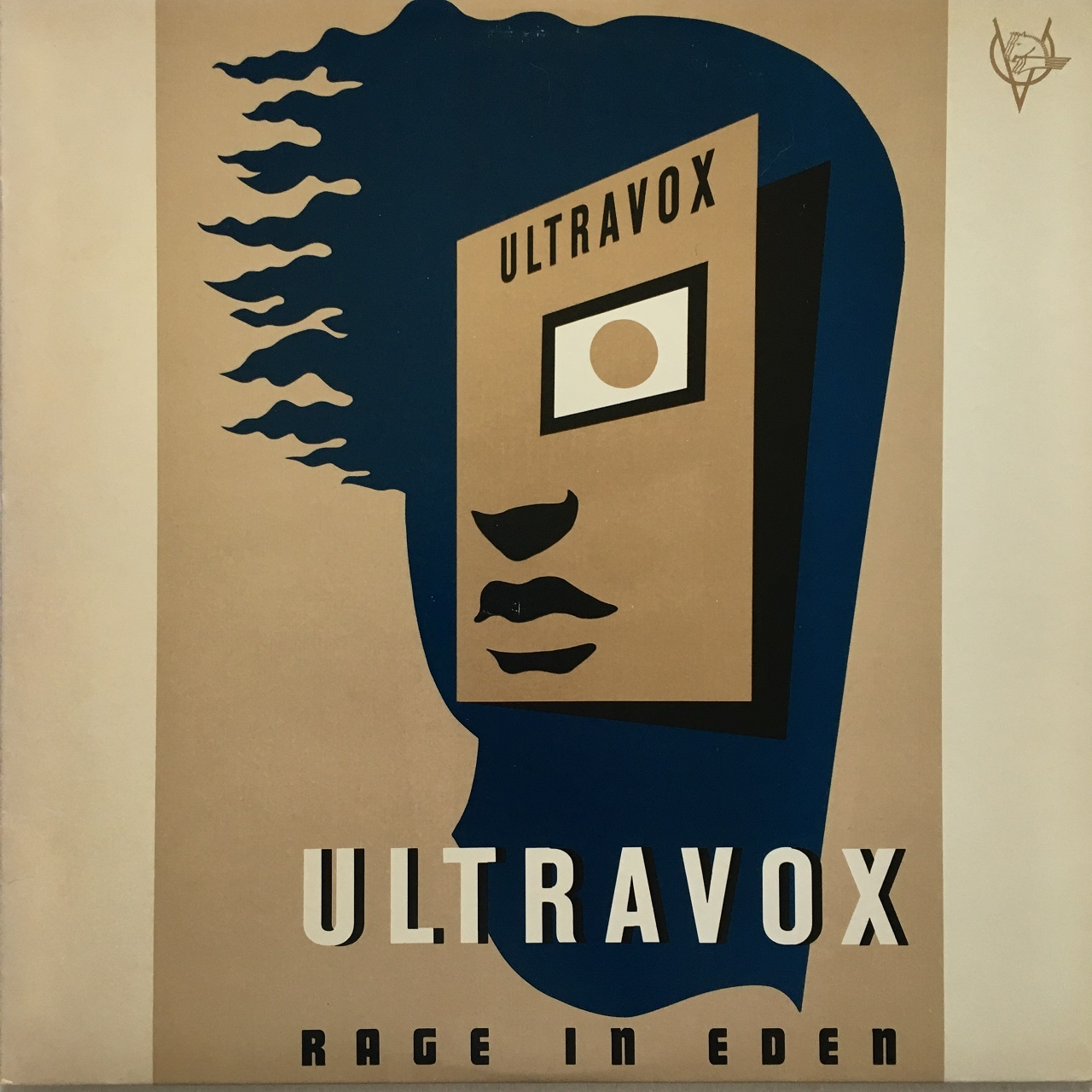 【LP・米盤】Ultravox ‎/ Rage In Eden