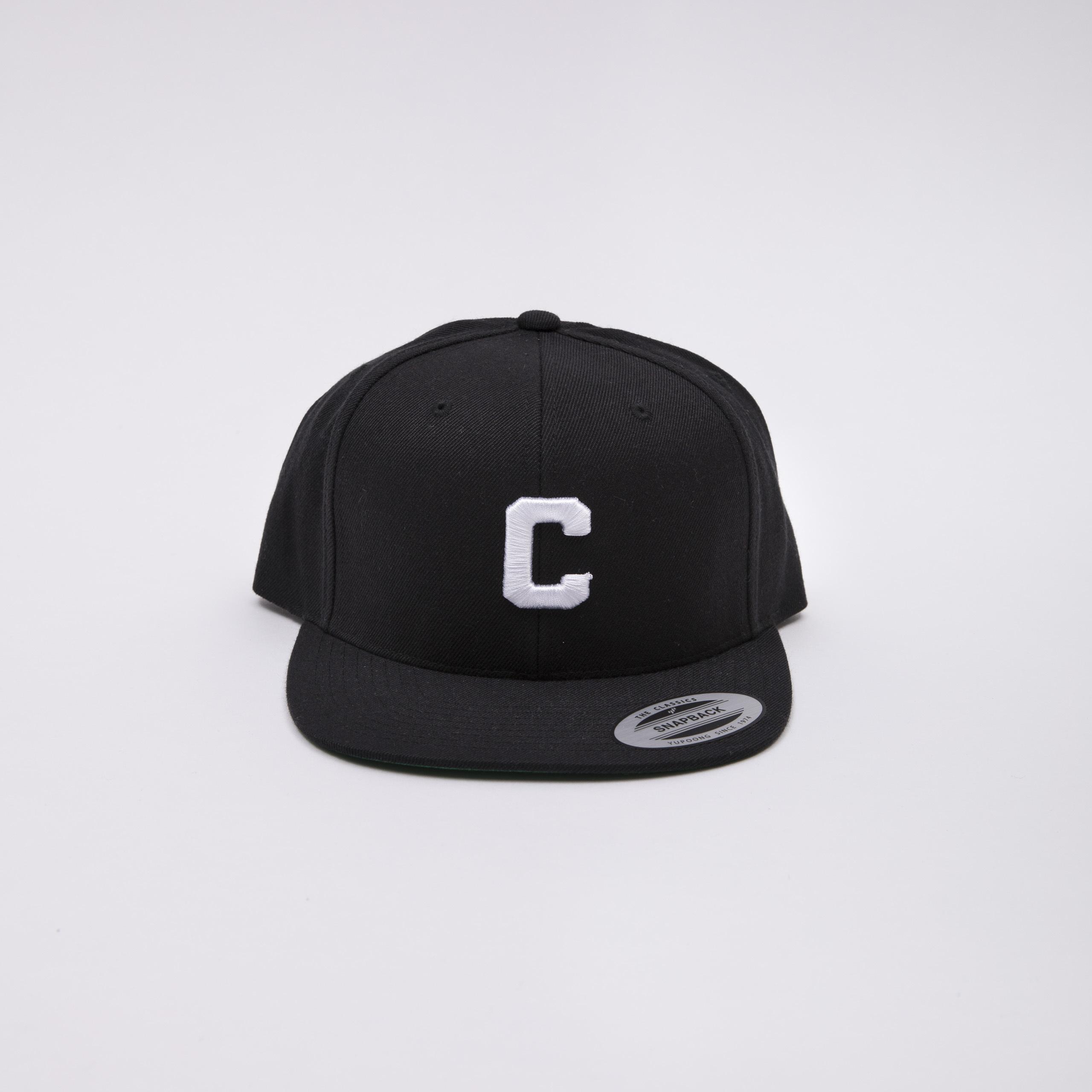 Crate Snap Back Cap Black