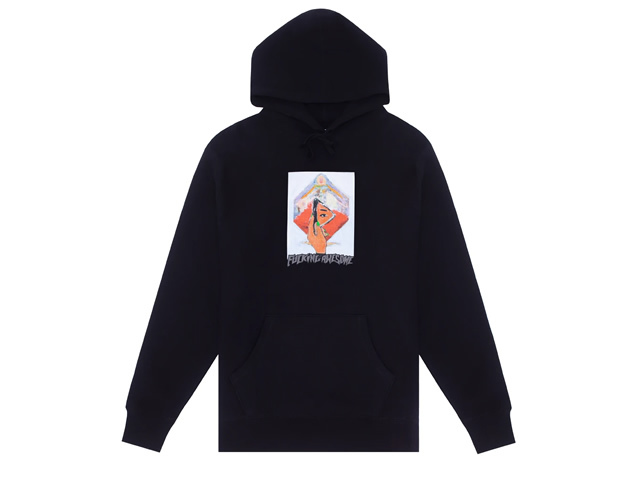 Fucking Awesome|Dill Mirror Painting Hoodie