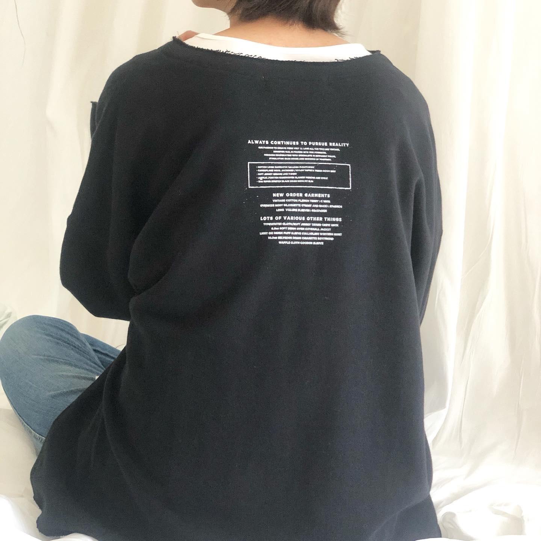 【 ANTGAUGE 】- AB922 - バックプリントプルオーバー