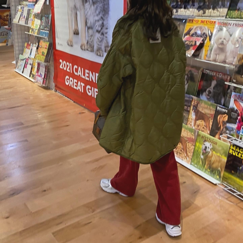 DAYNYC red corduroy pants