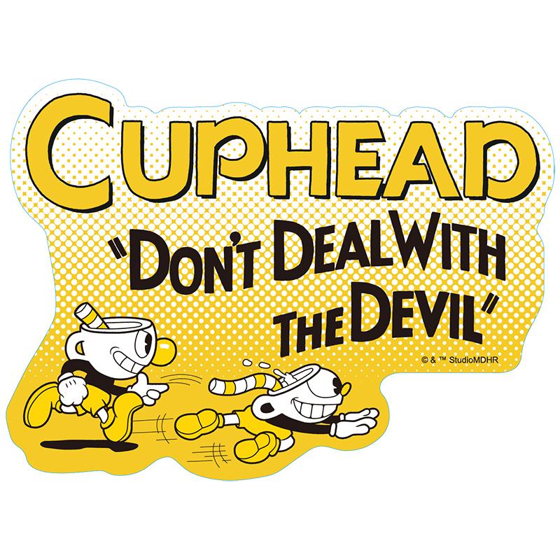 CUPHEAD ( カップヘッド ) トラベルステッカー④ / エンスカイ