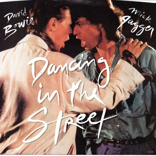 【7inch・米盤】David Bowie & Mick Jagger / Dancing In The Street