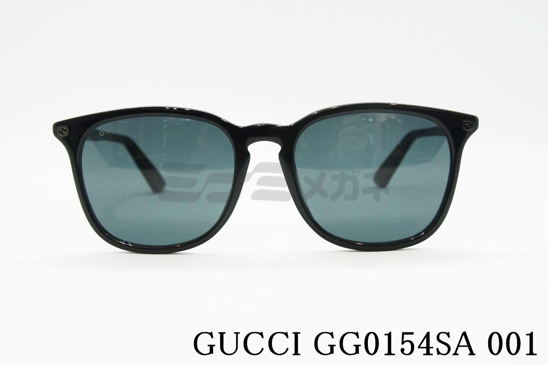 【朝倉未来さん着用】GUCCI(グッチ)GG0154SA 001 ウエリントン 正規品
