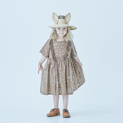 eLfinFolk エルフィンフォルク QiLin one piece dress size:110 color:brown