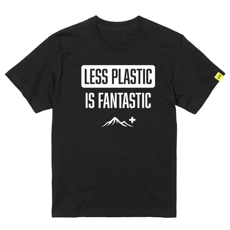 Less Plastic Is Fantastic Tee
