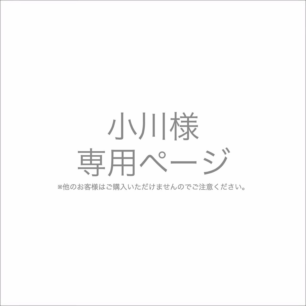 小川様専用ページ