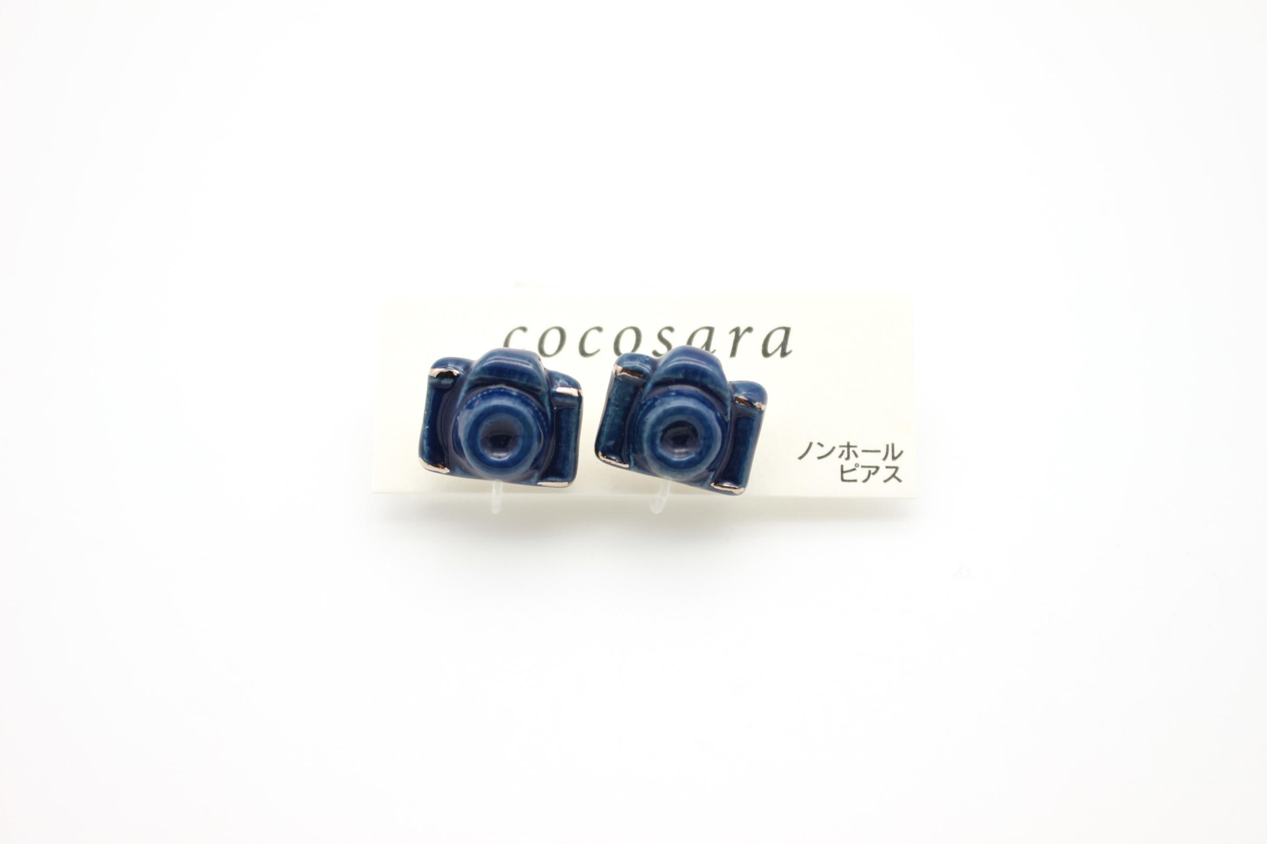 有田焼 ノンホールピアス   カメラ 1