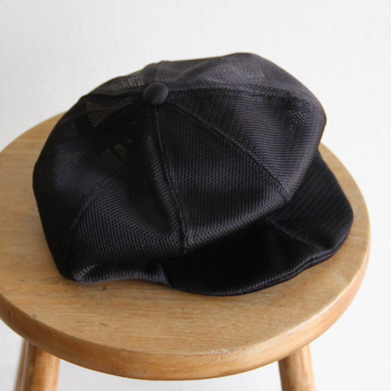 HICOSAKA【 mens 】mesh 8panel draping casket
