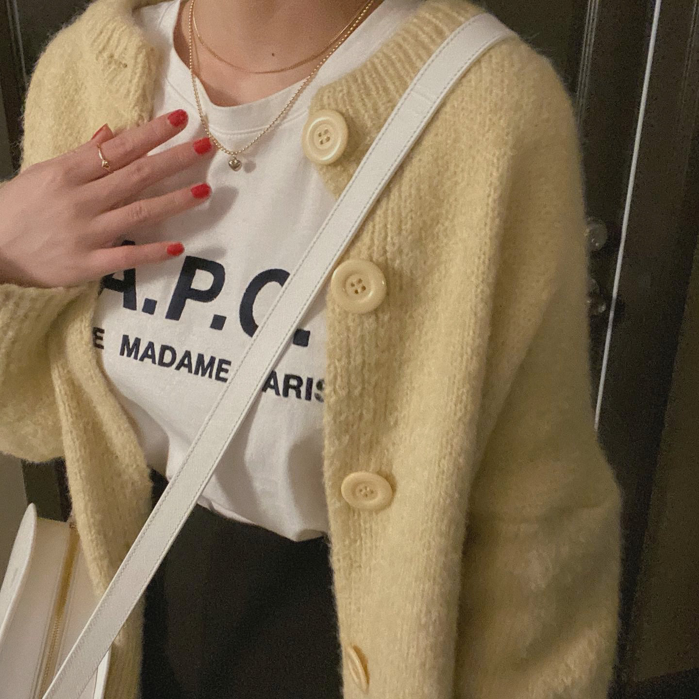 【RE】DAYNYC butter cardigan