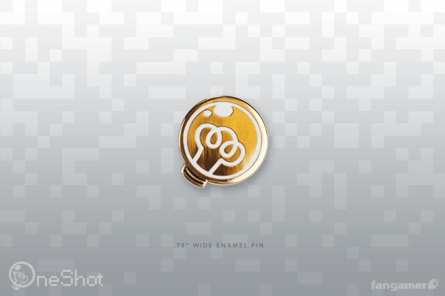 太陽 ピンバッジ / OneShot