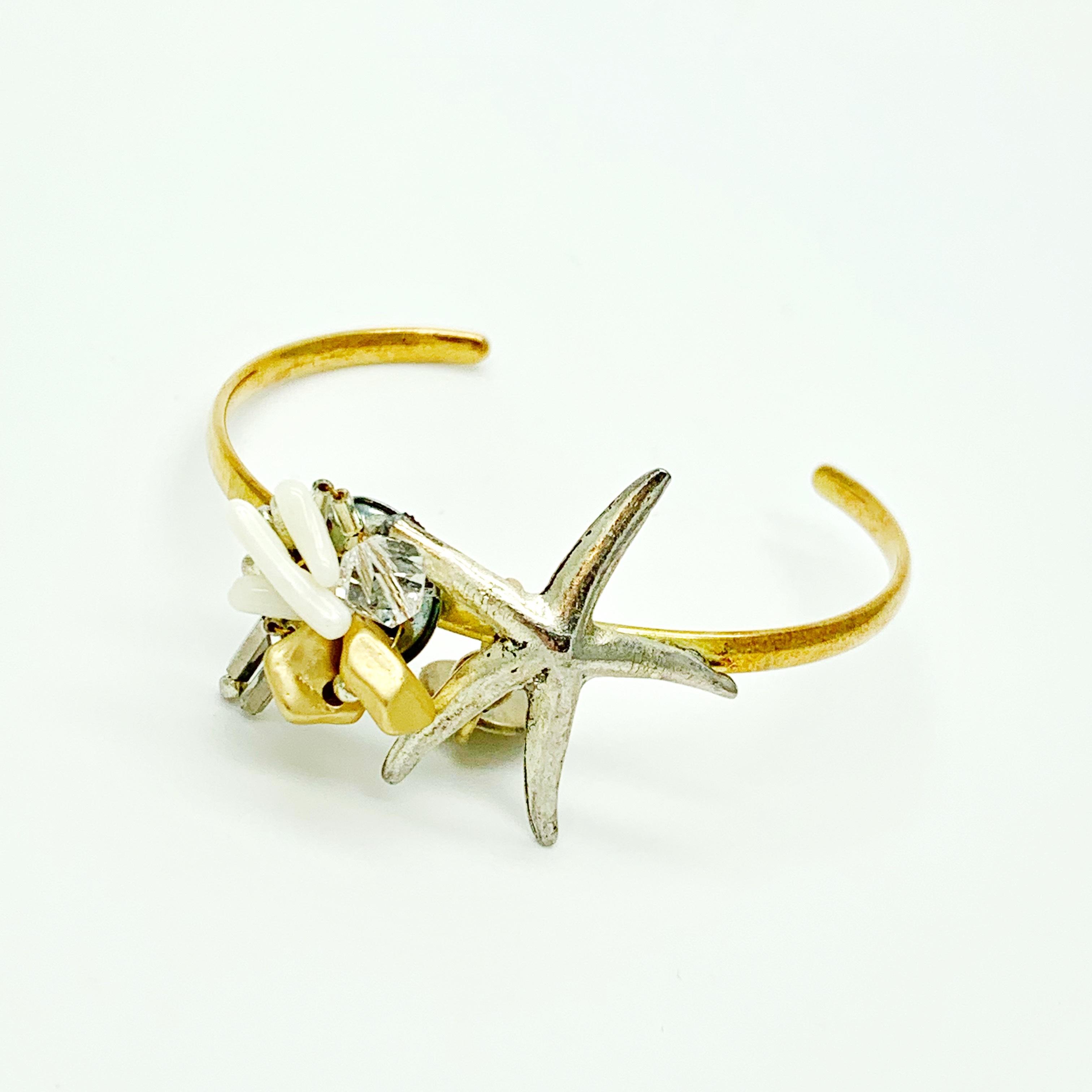 Clisoie starfish バングル ゴールド