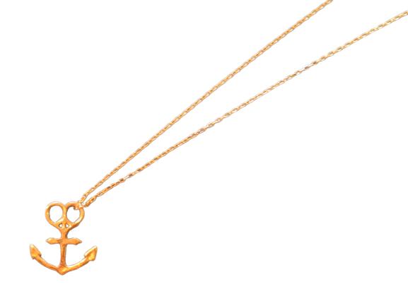 """MAHINA MELE ORIGINAL """"Anchor Necklace 10K"""""""
