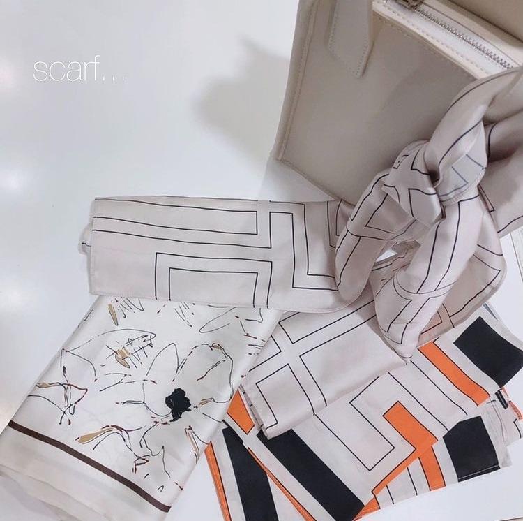 FRAY I.D オリジナルロングスカーフ
