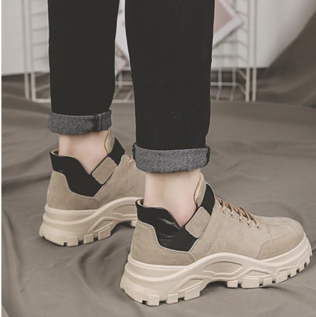 velor dad sneakers PD0161   PIVOTDOOR