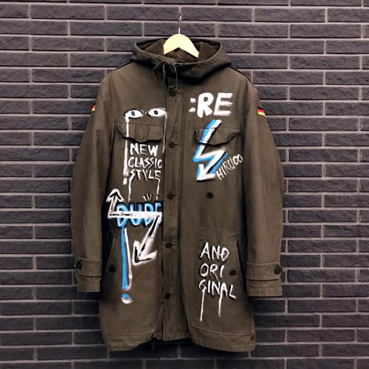 Art On Clothing / Military Coat【WER-001】