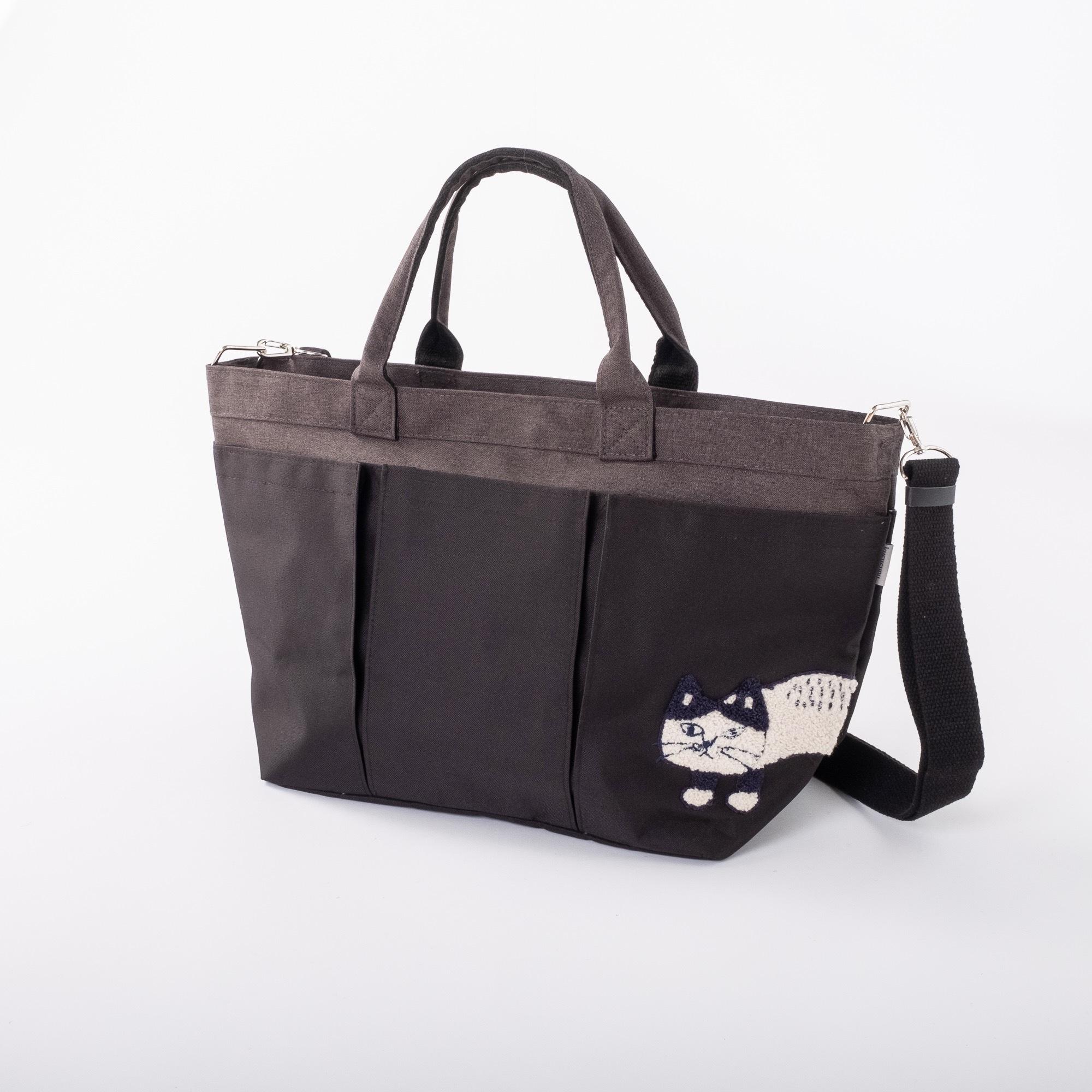 多機能2WAYバッグ 「マチルダさん多機能2WAYBAG ブラック」