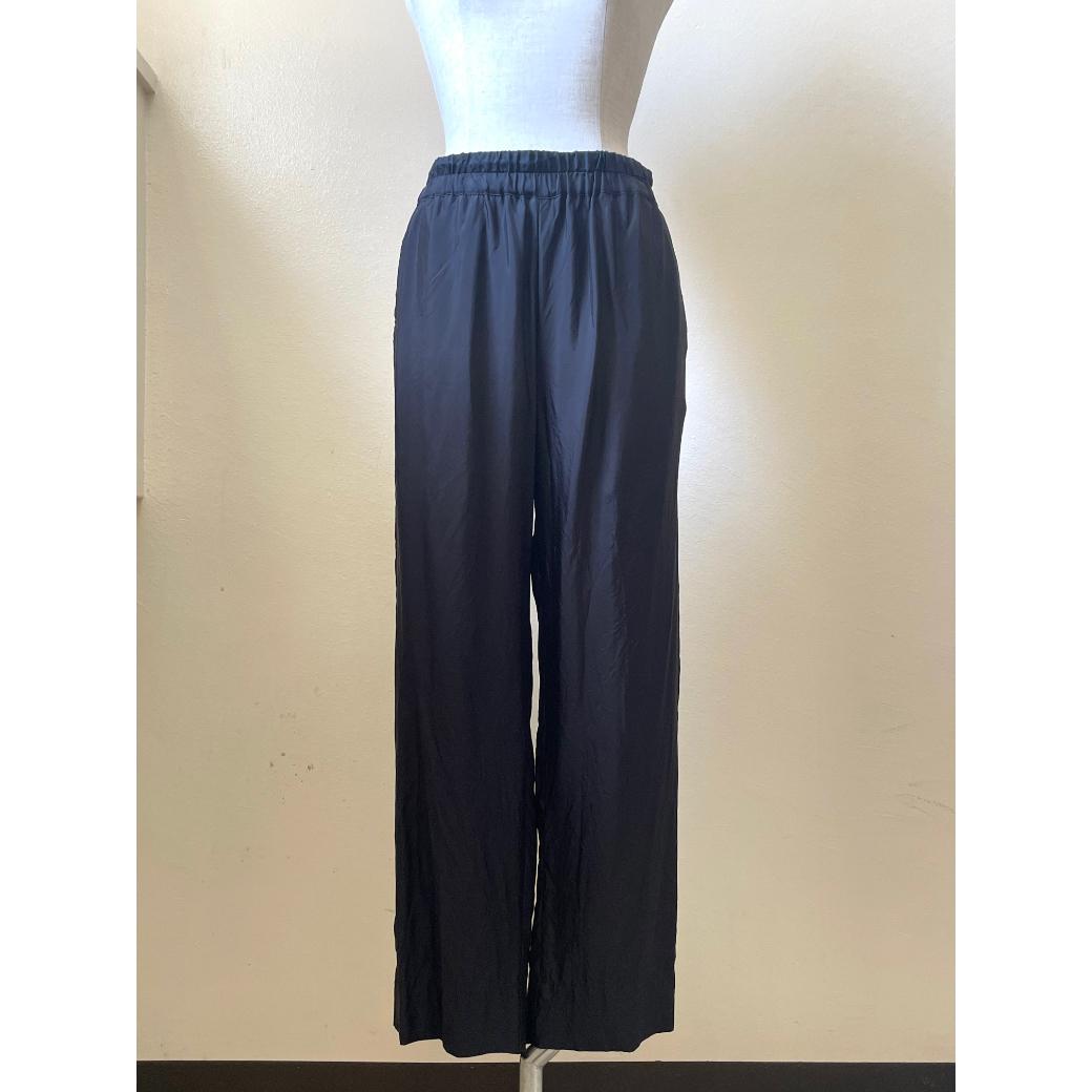 【hippiness】cupro easy pants (black) /【ヒッピネス】キュプラ イージーパンツ(ブラック)