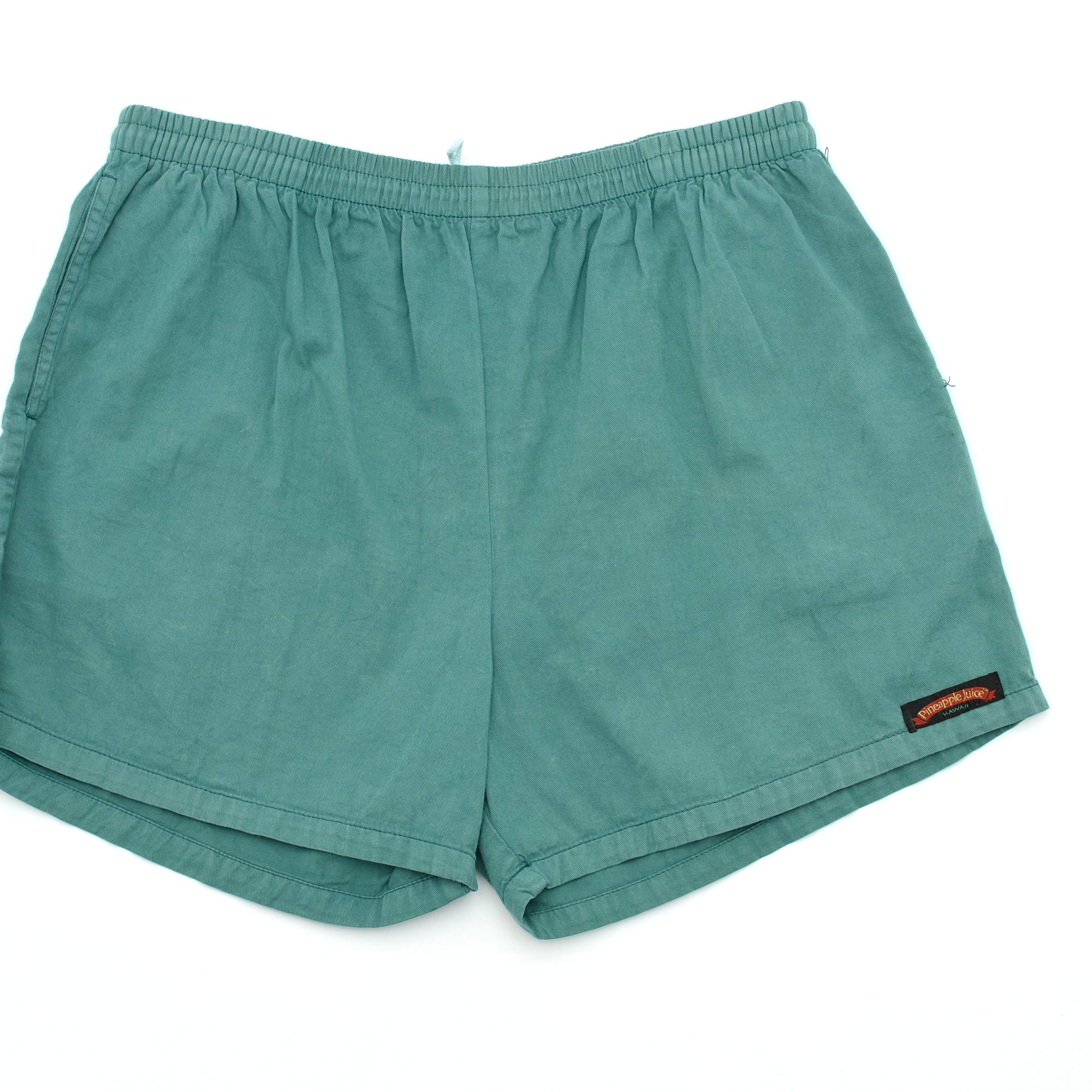 90's Pineapple Juice cotton color shorts Made in Hawaii