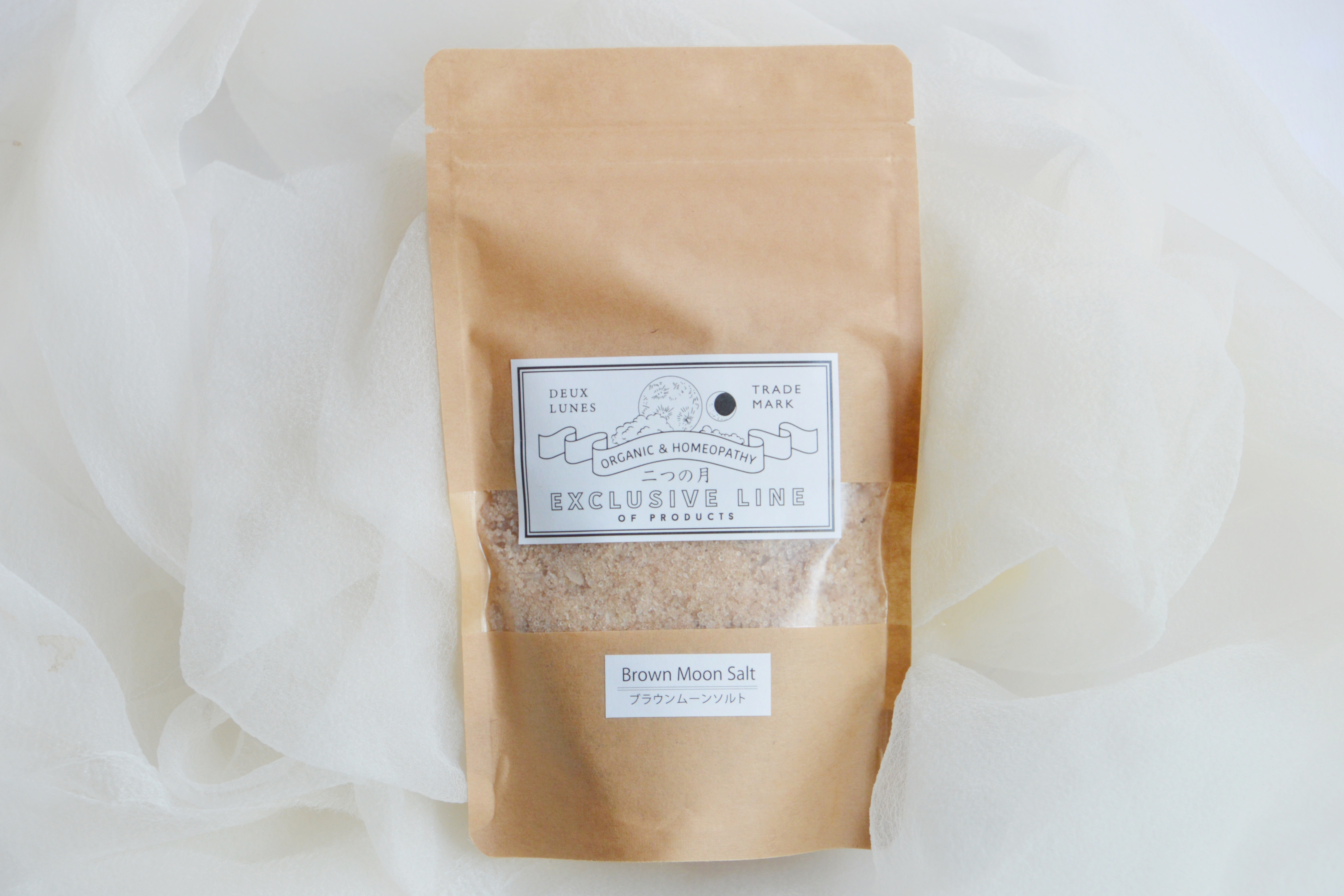 ブラウンムーンソルト(藻塩)180g