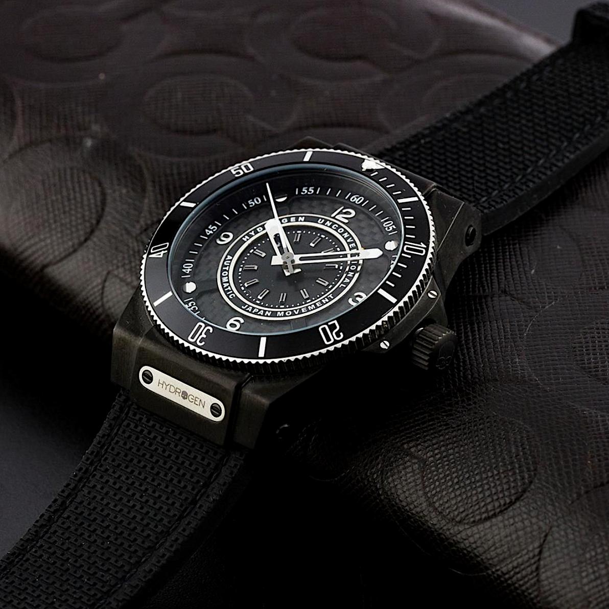 【HYDROGEN WATCH ハイドロゲンウォッチ】HW324202/SPORTIVO スポルティヴォ(ブラック)/国内正規品 腕時計