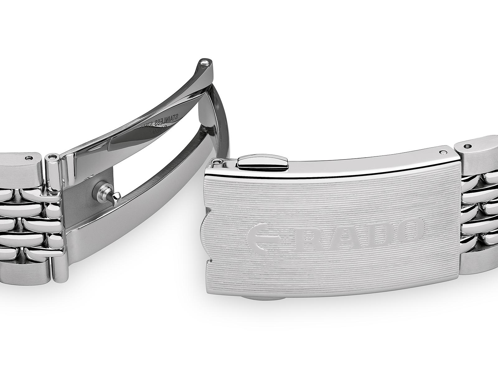 【RADO ラドー】数量限定品/Captain Cook キャプテンクック(ブラック)トラベルケース付き/国内正規品 腕時計