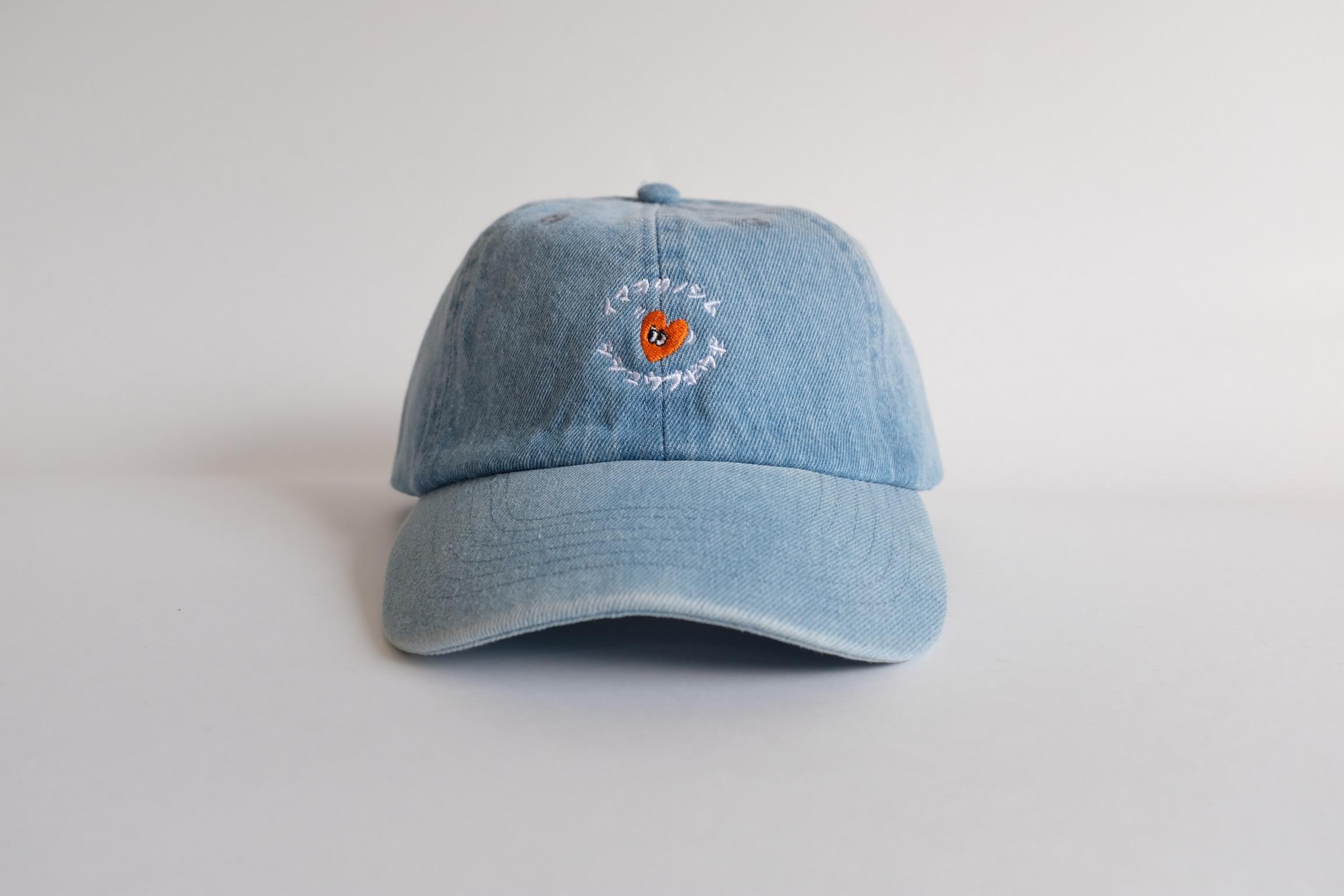 """SBW """"イマヲタノシム Dokkin""""Denim  cap"""