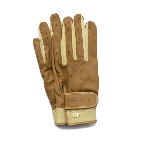 Elegant Golf Glove brandy-beige