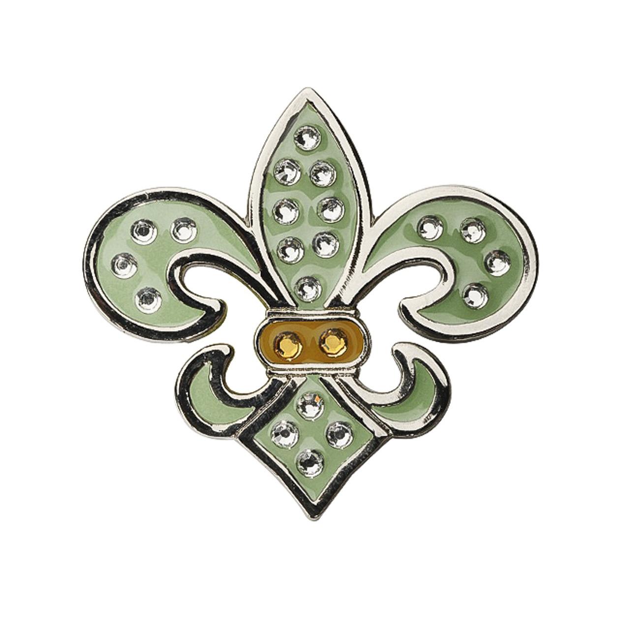 24. Fleur de Lis Green